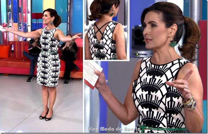 moda do programa encontro - fátima bernardes no dia 01 de outubro de 2013