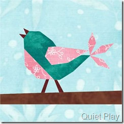 8Songbird Paper Pieced Pattern
