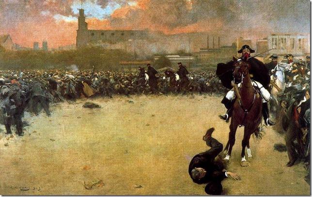 ramon casas i carbo_La Carga_1899