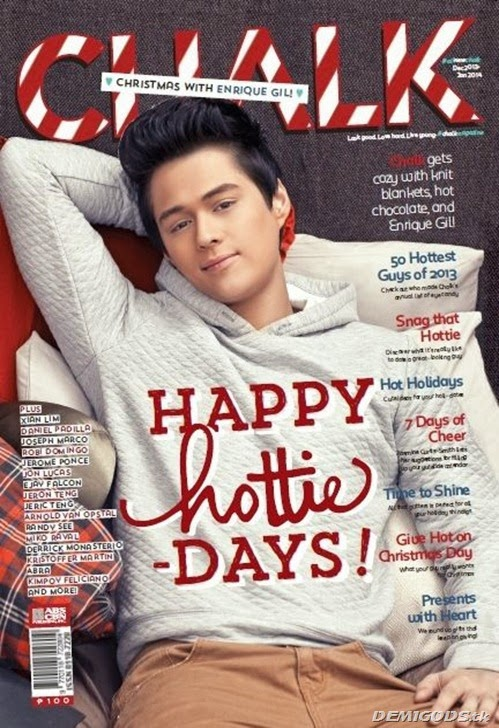 Enrique Gil Chalk magazine cover