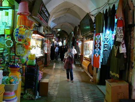 Kashan: bazaar