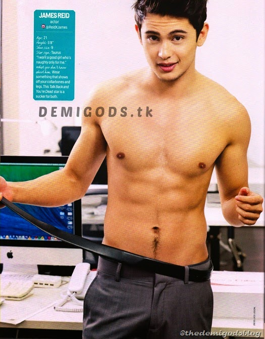 Cosmo Centerfolds 2014 Tower 69 DEMIGODS (5) James Reid 1