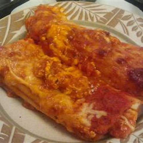 Manicotti with Cheese