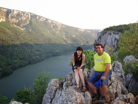 Pensiune in Cazanele Dunarii: cu Elena Ciric deasupra Dunarii