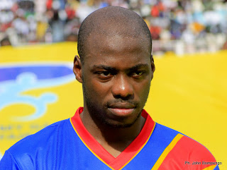 Youssouf Mulumbu, capitaine de l'équipe nationationale de la RDC. Radio Okapi/ Ph. John Bompengo