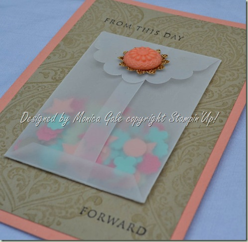 Stampin'Up! confetti card close