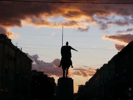 Apus de soare St. Petersburg