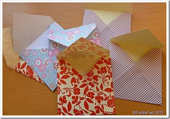 patterned envelopes