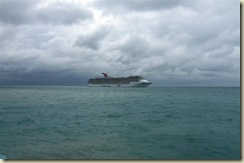 Carnival Docked at Belize (Small)