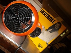 Wernard Heatball heater, with box