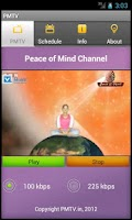 Screenshot of Peace of Mind TV