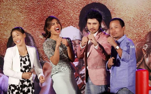 Priyanka Chopra At Audio Release Of Mary Kom