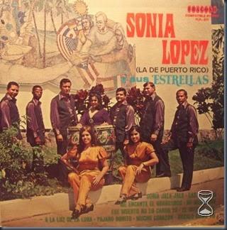 Sonia Lopez Y Sus Estrellas - De Puerto Rico - Front