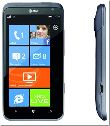 Nokia Lumia 900 HTC Titan II