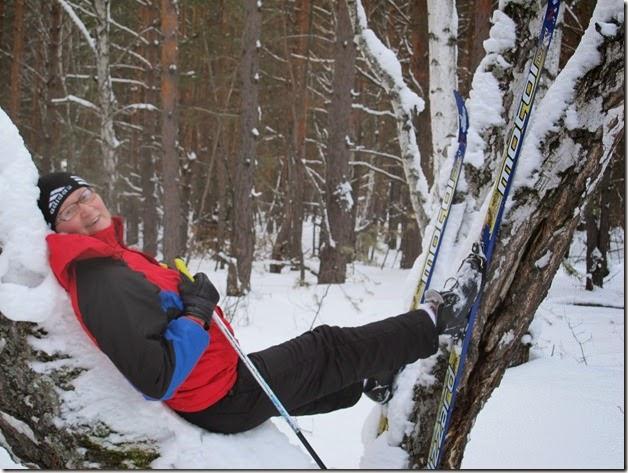 Лыжи 150