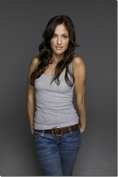 Minka Kelly Blue Jeans