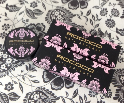 Rococo Nail Apparel packaging