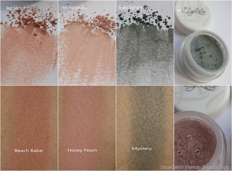 Lily Lolo Mineral Makeup Swatches