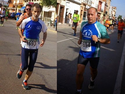XXIX Carrera popular de Brenes 2014