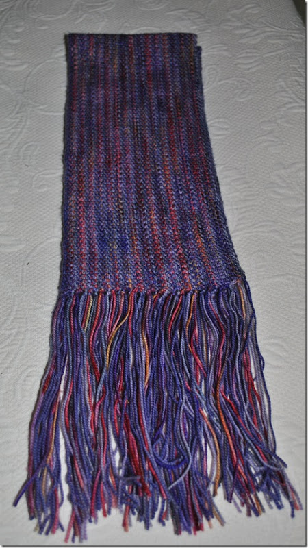 Woven Look Scarf 003