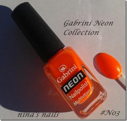 gabrini neon N03