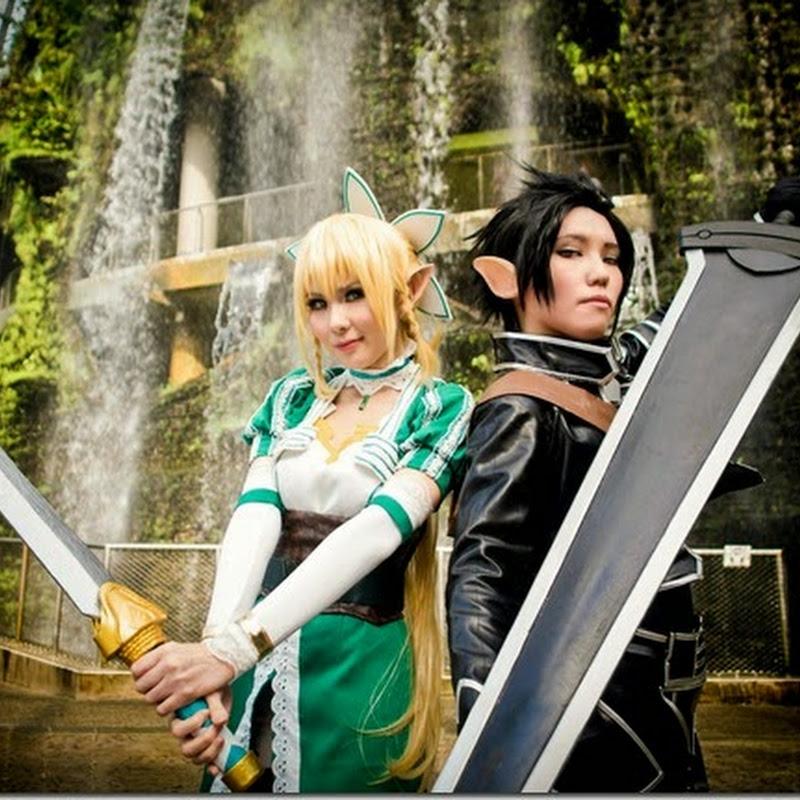ALO: Kirito & Lyfa Photoshoot