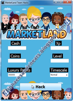 Market Land Hack Cheat Tool