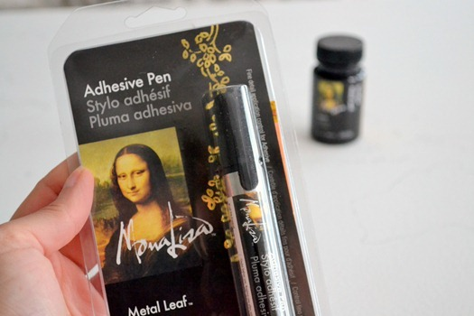adhesive pen for gold leaf