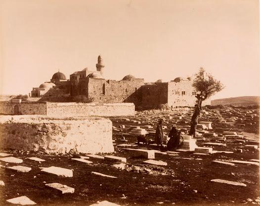 Mausoleum and Mosque of Prophet David near Jerusalem