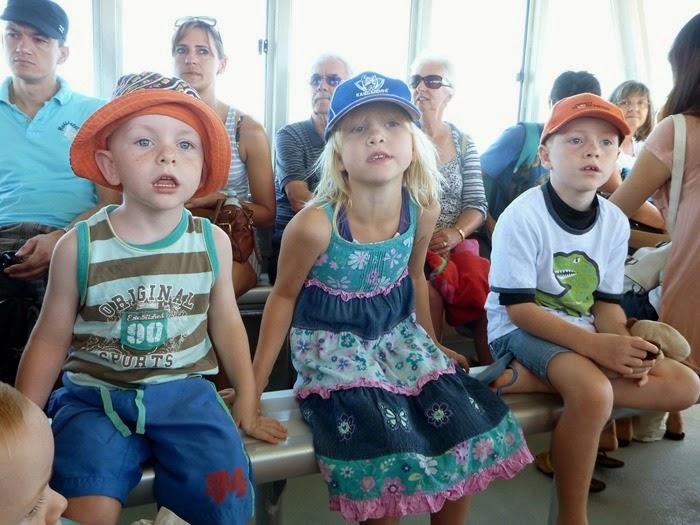 ferry goers