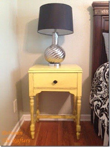 Nightstand after (Full view w Lamp) 2