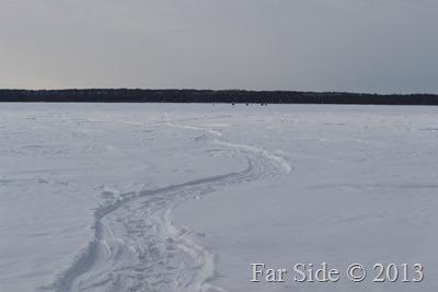 Trail on Tamarac lake