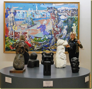 2012-02-19 Painting, Sculptures and Sylvien