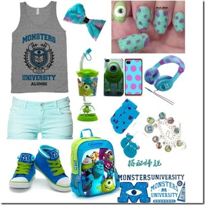 Monster University Inspired Mix and Match 05