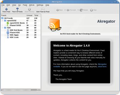 KDE4.2-Akregator