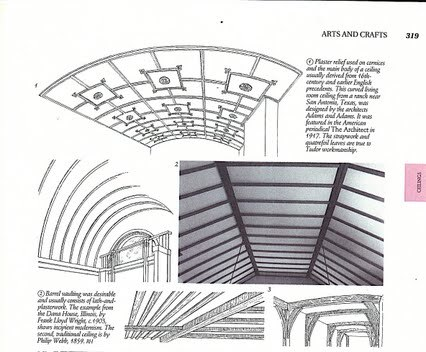 For a more involved project you could apply wooden lath strips in a design to create architectural interest. I have always wanted to try a Chinese Chippendale version - certainly not in my new apartment though, maybe my imaginary country house.