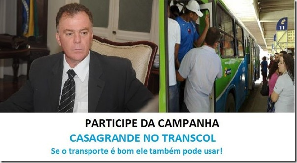 Casagrande no Transcol