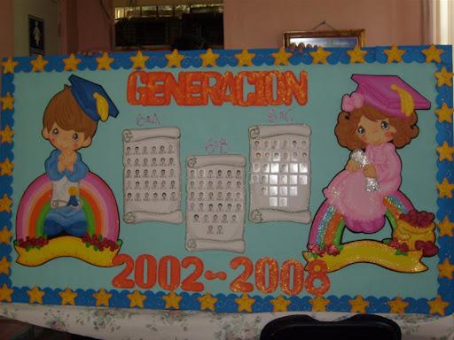 Murales de graduación de preescolar - Imagui