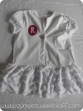 Monogrammed Ruffle Jackets - Sumo's Sweet Stuff