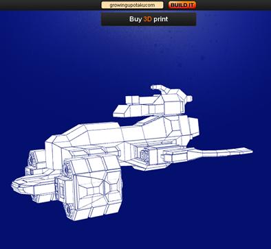 GUO spaceship