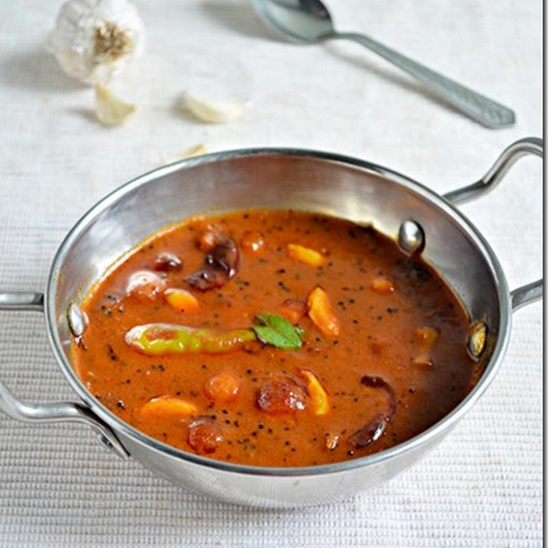 Chitras food book poondu kulambu poondu kuzhambu recipe is an easy to make flavouful side dish for ricei tried this recipe from the hindu food saf forumfinder Choice Image