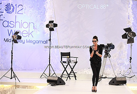 OPTICAL 88 SPECTACULAR SPRING SUMMER 2012 FASHION WEEK  MIDVALLEY MALAYSIA FENDI, PRADA GUCCI DIOR PORSCHE OAKLEY BURBERRY BOSS