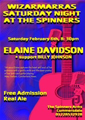 SPINNERS POSTER ELAINE