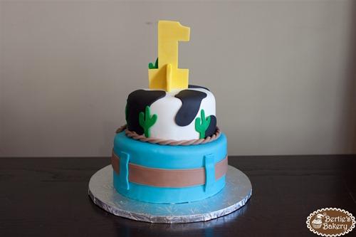 Cowboy Birthday Cake-5