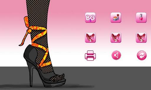 サリーの靴のデザイン