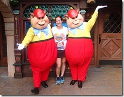 Disneyland 10K Tweedle Dee and Tweedle Dum