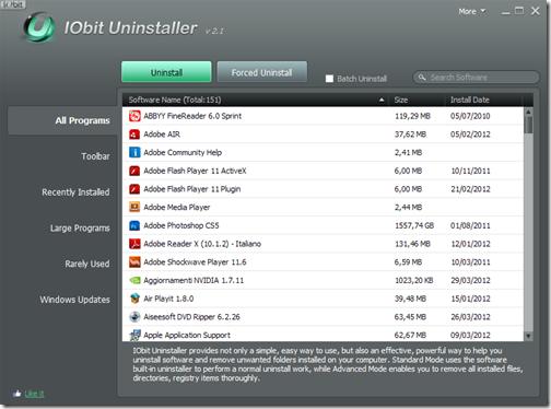 IObit Uninstaller 2