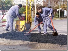 Tareas de mantenimiento en Santa Teresita