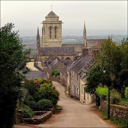 Locronan, France