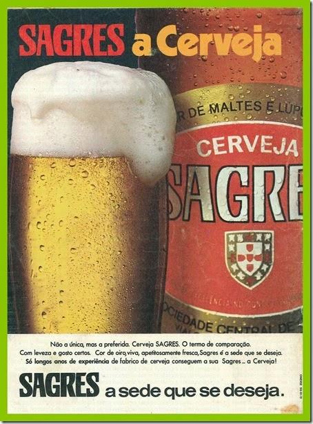 cerveja sagres vintage